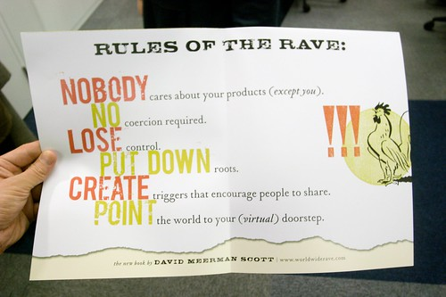 Rules of the Rave!