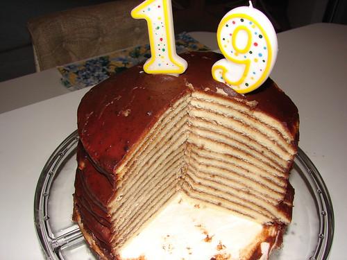 Kin's bday cake