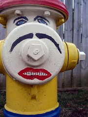 personality (holatay) Tags: colors face hydrant fire cool paint different unique personality awkward