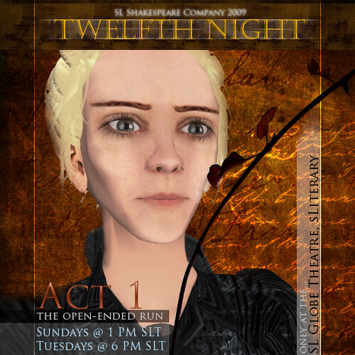 OEP1 Twelfth Night Main - Actor Focus - Olivia
