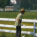 Amish Man painting