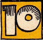 Seestadt Rostock, 10 pf (Iliazd) Tags: germany design graphic inflation notgeld papermoney germancurrency emergencymoney germancurrencyinflationarypreinflationegontschirchnotgeld germanpapermoney