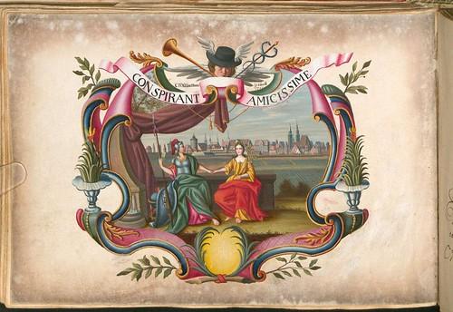 Liber Amicorum - Johann Christian Sigmund Mönch k