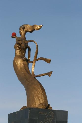 Lake Hulun Sculpture (by niklausberger)