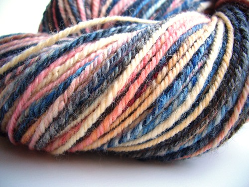 Girl with pearl Earring, 229yds, navajo plied, Corriedale by Electric Sheep Fibers-6
