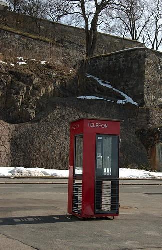 Telefonkiosk Akershuskaia