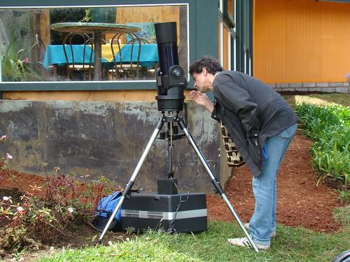 Telescopio en busca de Venus
