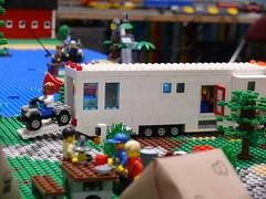 camping lego trailer rv campground camper motorhome tca brickpile rving fifthwheel legotrains baylug bayltc
