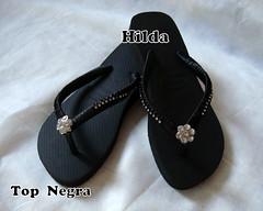 Top Negra (Hilldinha) Tags: flip havaianas flop sandal sandalias sandlia havainas customizadas sandaal bordadas pedrarias havaianascustomizadas chineloscustomizados sandaliascustomizadas