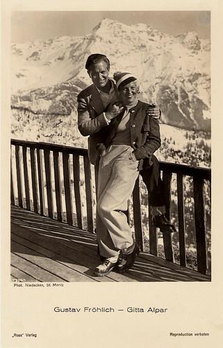 Gustav Fröhlich, Gitta Alpar