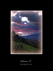 I am with you! (* landscape photographer *) Tags: italy europe tramonto nuvole natura basilicata cielo prezioso aplusphoto iamwithyou salvyitaly francavillainsinni lucaniabella iosonoconte tralevalli