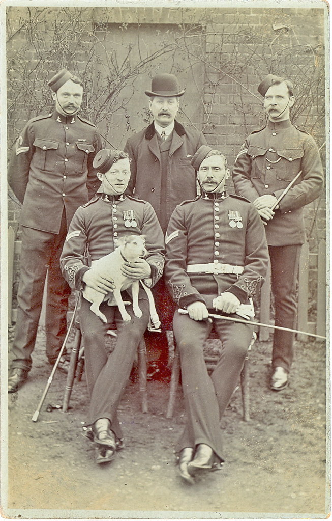 NCOs 7th Dragoon Guards (Princess Royal's) Shortly After the 2nd Boer War