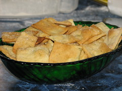 crisp rosemary crackers