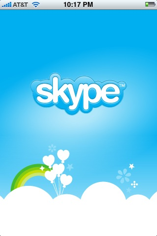 Skype on my iPhone