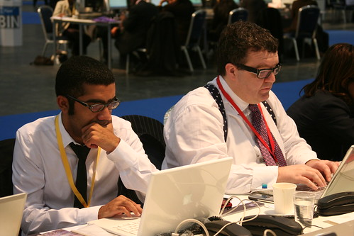 Tom Watson MP (and Ahmed Al-Omran) blogging at the G20 conference