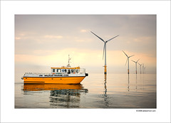 My First Pro Photoshoot (Ian Bramham) Tags: england colour industry station yellow boat photo nikon energy power farm offshore transport explore catamaran northern windfarm turbines renewableenergy d40 ianbramham wildcatmarine welcomeuk