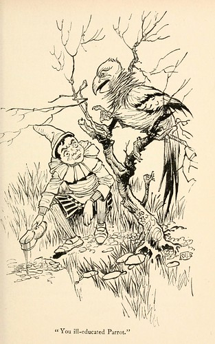 021-Charles Folkard- Pinocchio the tale of a puppet -1911