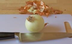 Tritare una cipolla