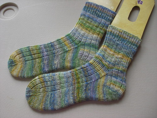 Finished Handspun Socks