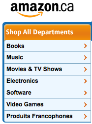 Wait, where did all the cool Amazon.com stuff go?