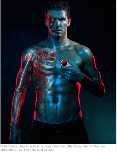 David Beckham es Terminator