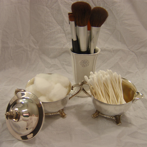 Silver and Brushes