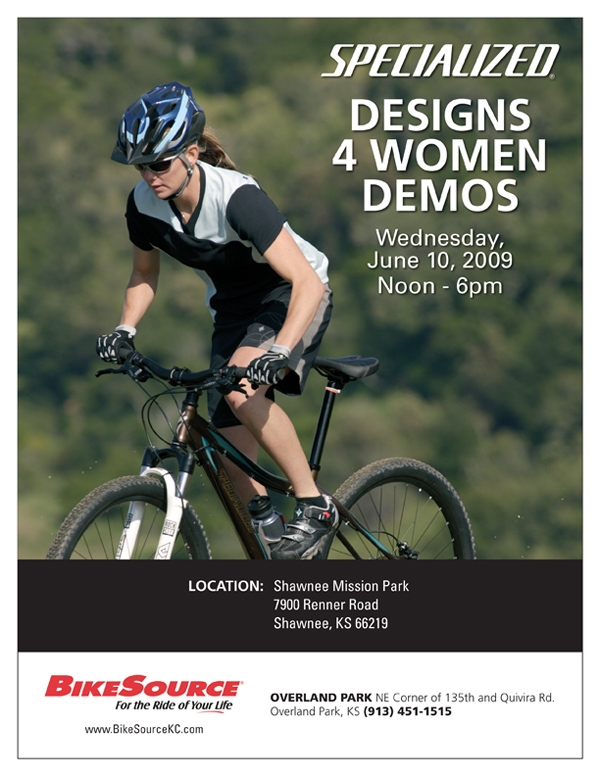 Specialized Designs 4 Women demo