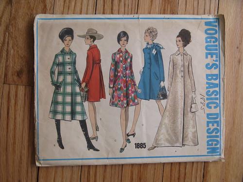 vintage pattern-coat