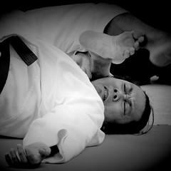 giving up (Ruoxer) Tags: art sport japan self pain jitsu action martial hard master karate saudi arabia filipino aikido ju defence sensei seiza dogi