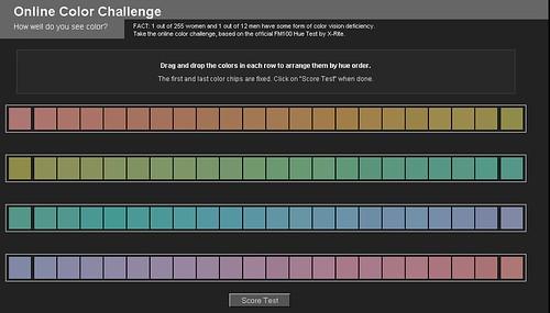 Online Color Challenge - 1