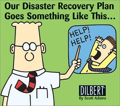 Disaster recovery plan of Dilbert