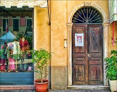 Italian Doors #4, Diano Marina (h_roach) Tags: street door italy window arch explore euripe diamondclassphotographer flickrdiamond