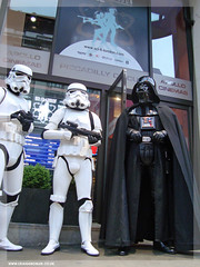 Sci-Fi London 8 - 501st Storm Trooper Garrison & Darth Vader