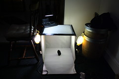 Homemade Lightbox (Ahd Photography) Tags: lighting photography diy homemade howto setup lightbox setupshot strobist 1000d