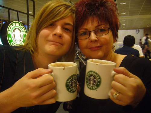 Mummy and I in 2006