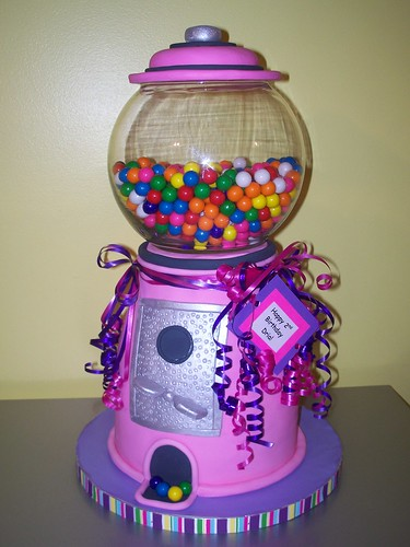 80s Birthday Cake · Pink Gumball Machine Cake