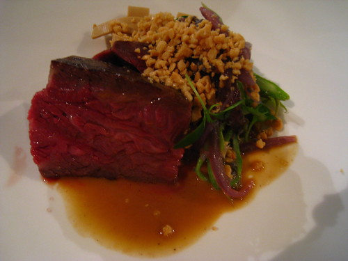 "Wagyu Skirt Steak, Long Bean, Tamarind & Peanut Butter ""Pasta"""