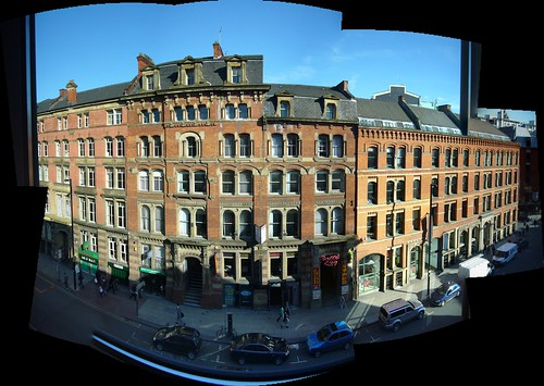 View from my room in Manchester