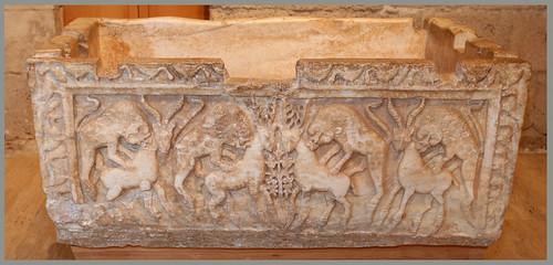 Pila de Al-Mansur. Museo de la Alhambra, Granada