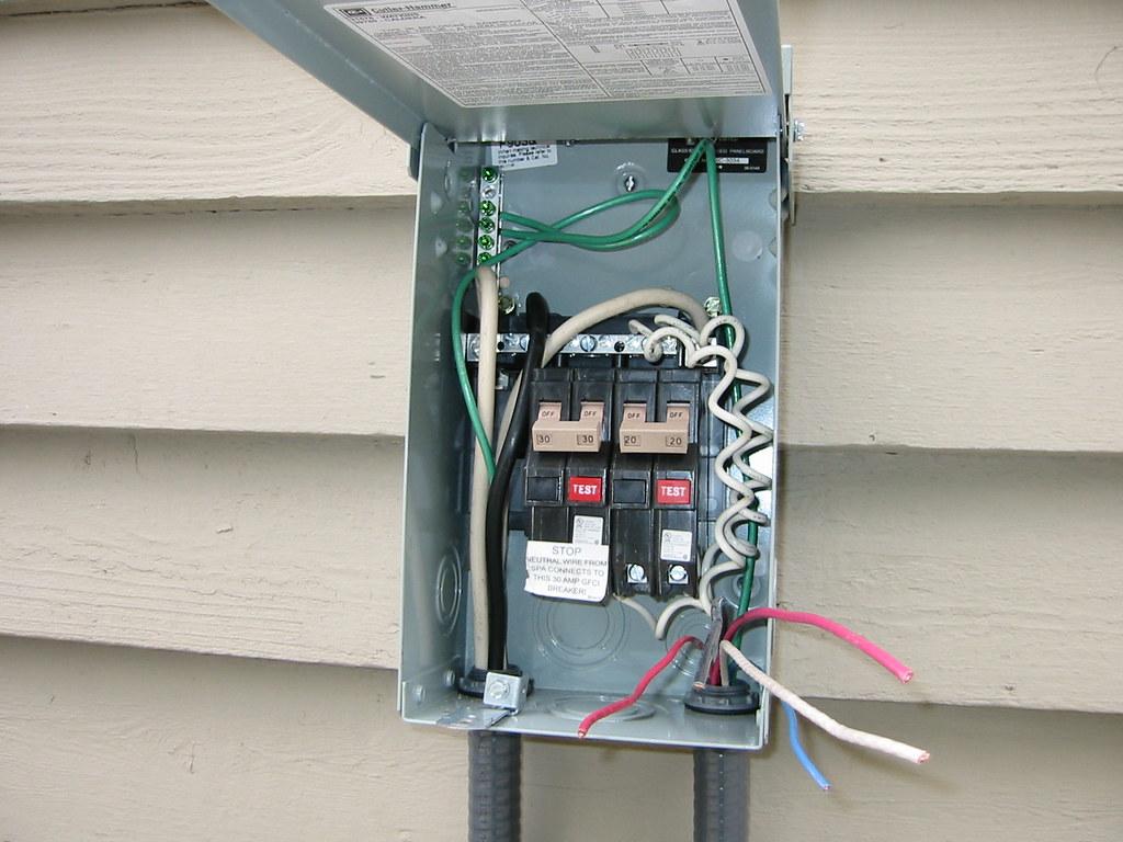 Caldera GFI box wiring