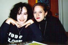 1992 May Lisa and I spjc-2 (soulblueprint) Tags: school friends florida nostalgia jc 1992 stpete nosepiercing collegedays meandlisa collegeage spring1992 inmylateteens stpetejrcollege