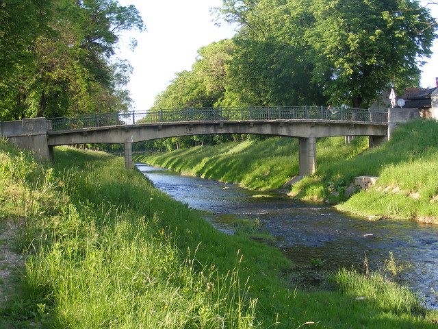 Petrinjcica River & Bridge - Petrinja