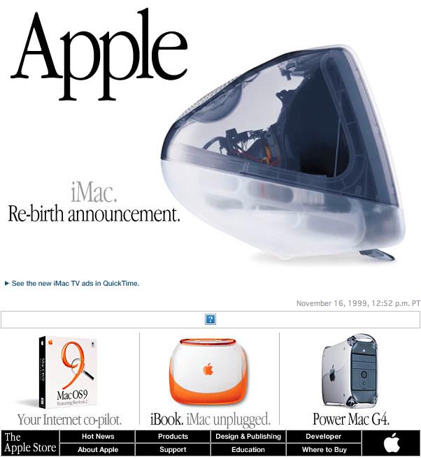 Apple 1999
