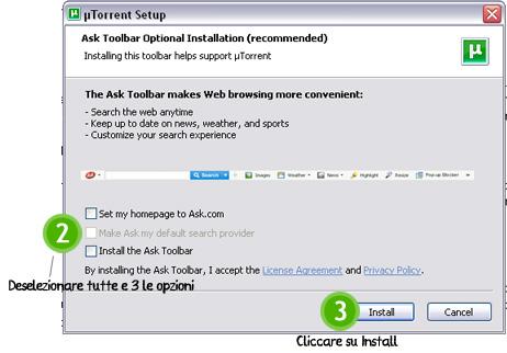 Scaricare e installare uTorrent