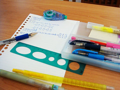Colorful stationery!