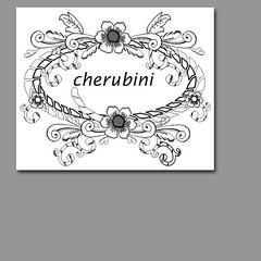 Embroidery Design (joycebags) Tags: design embroidery rococco cherubini