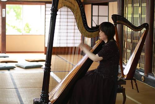 葵ハープ教室コンサート 本多真理先生によるハープソロ