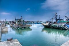 IMG_050678HDR (Joseph Lu.) Tags: canon harbor quay chayi hdr ef2470mmf28lusm seaport    putai eos5dmarkii