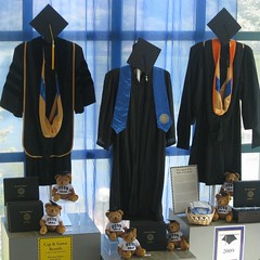 Graduation gowns (Photo by Jackie Burrell)