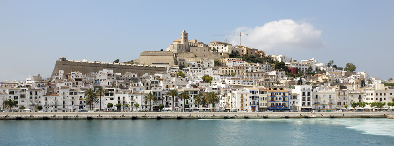 Eivissa desde puerto